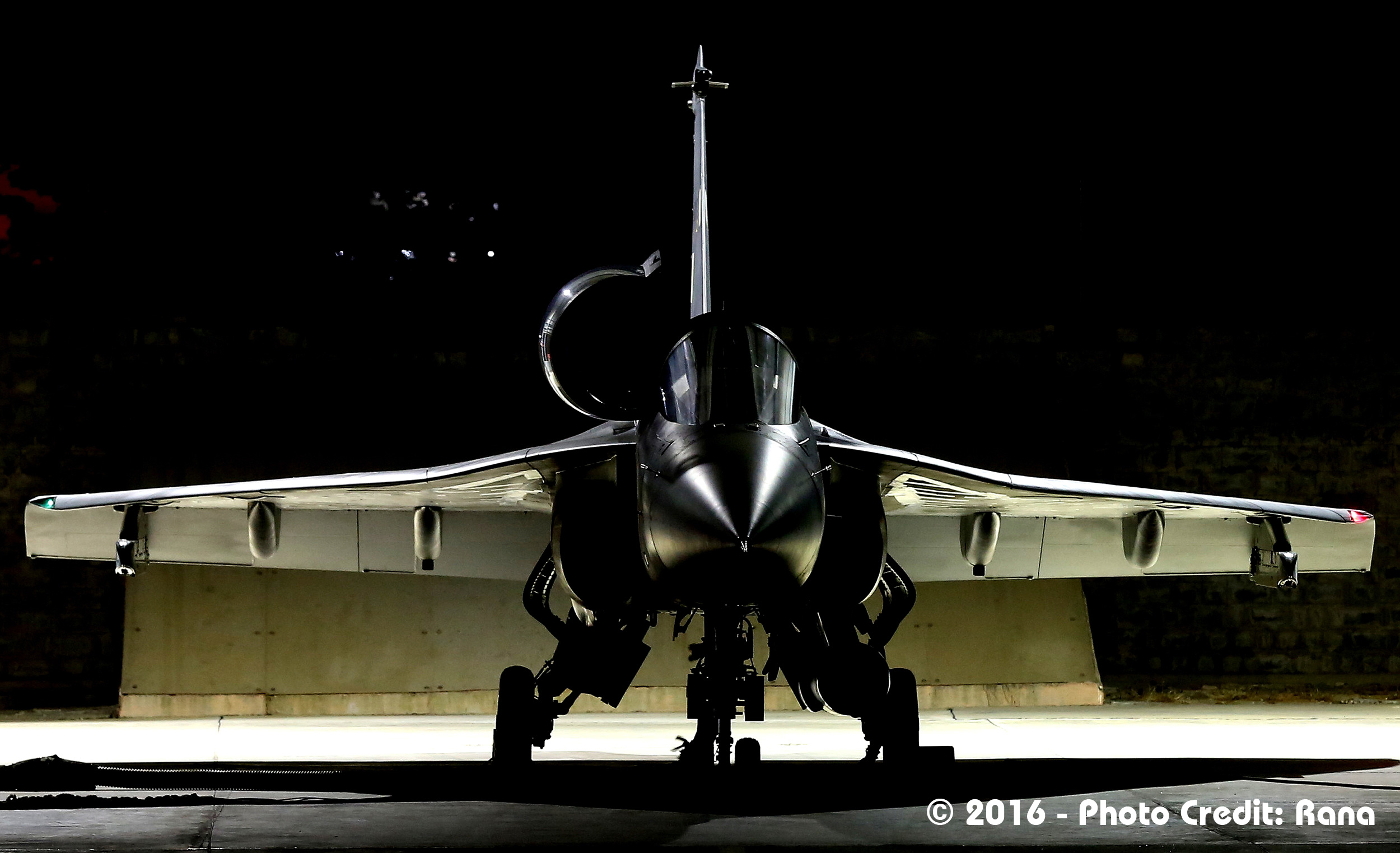 The lethal 'LCA Tejas'; Source - Deb Rana.