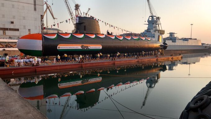 INS Kalvari, INS Khanderi, Scorpene Submarine, Submarine, Indian Navy, DCNS, DCNS India