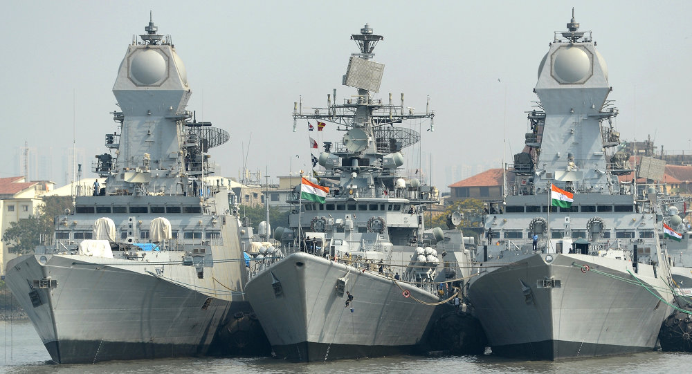 Kolkata Class and Dlehi Class destroyer of the Indian Navy