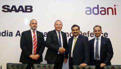 Saab, Saab India, Saab Gripen, Gripen, Indian Air Force, Adani Group, Make in India