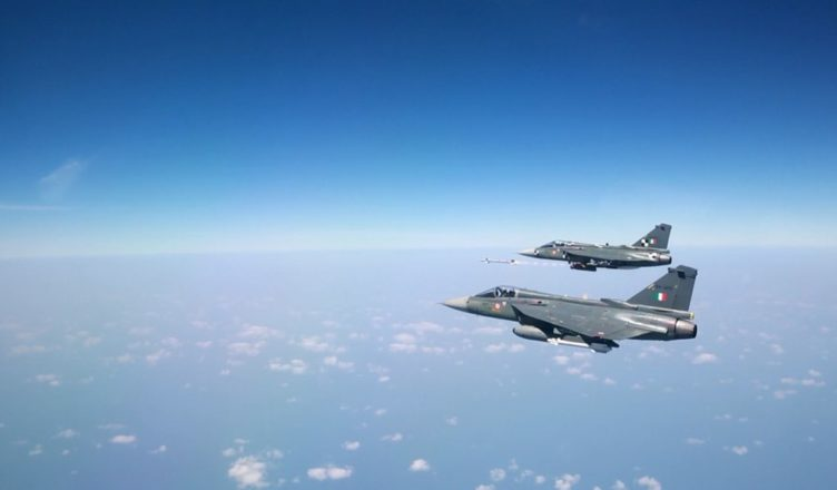 LCA Tejas Firing Derby BVR; Courtesy - DPR.