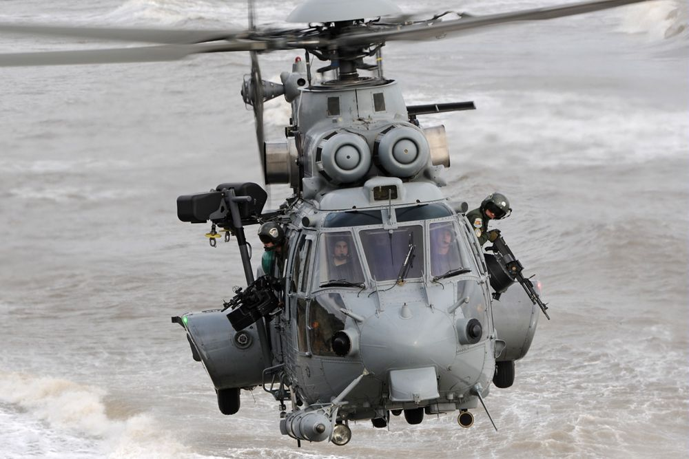 The Airbus Manufactured H225M Helicopter; Courtesy - Airbus