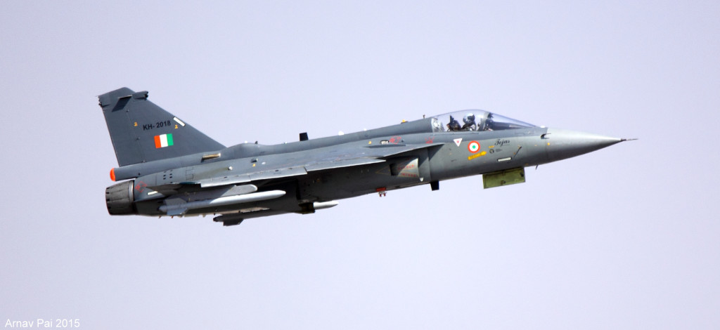 Inidan Aerospace model - The Tejas; Source - Arnav Pai.