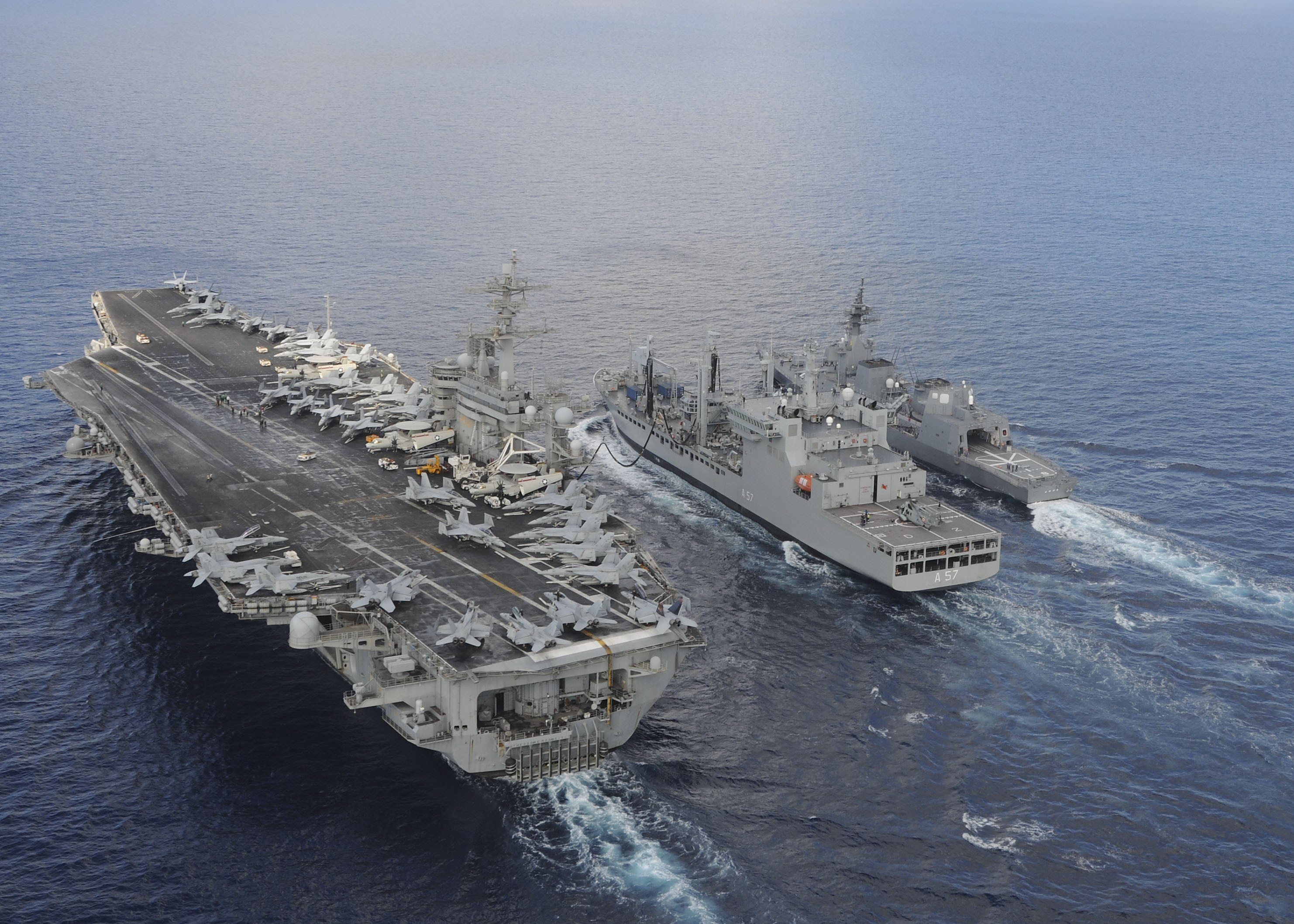 India, USA and Japan converge close to the doors of South China Sea as Exercise Malabar kicks off Japanese Coast.