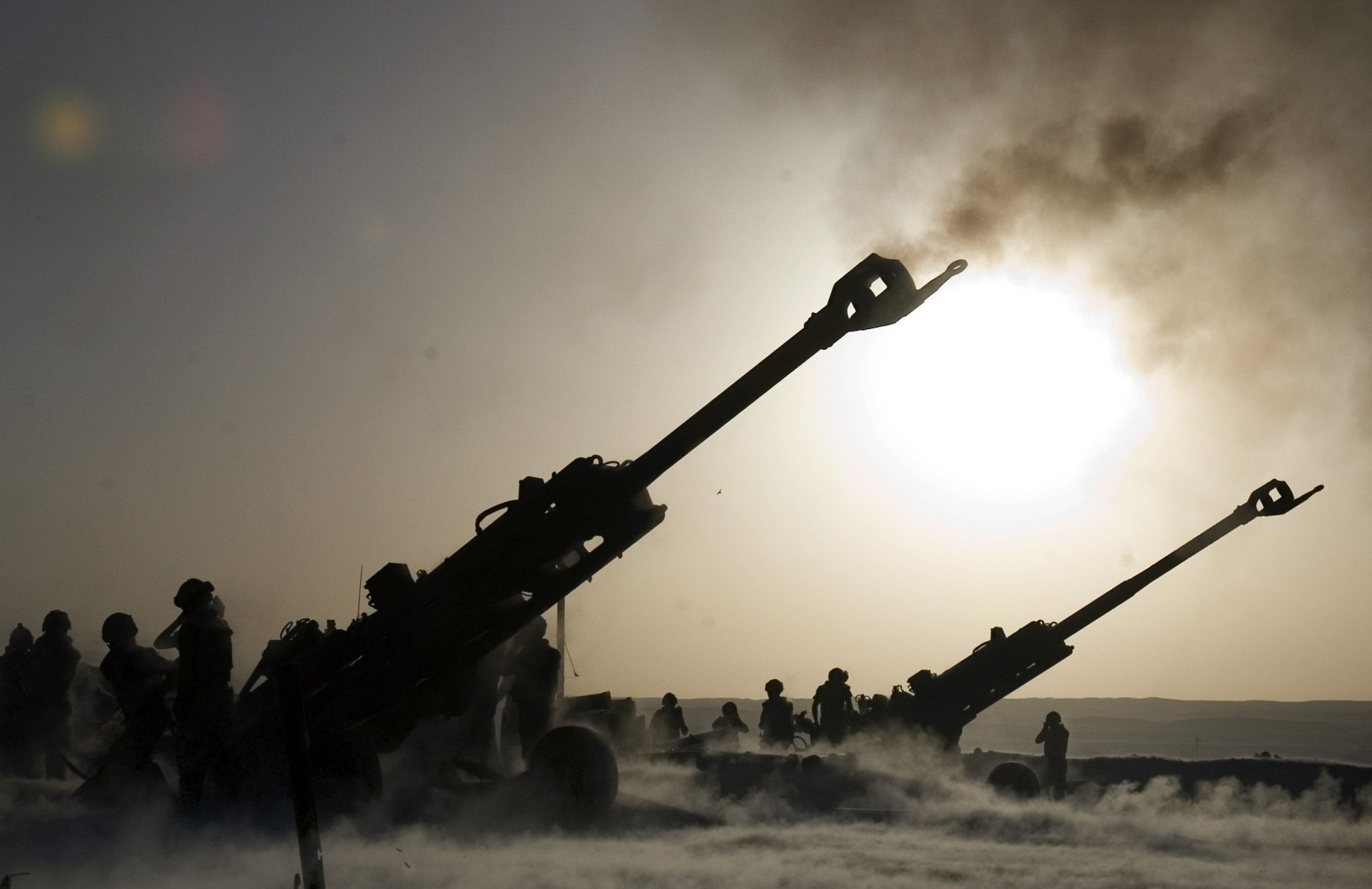 Mahindra and BAE systems join hands to make M777 howitzers in India.