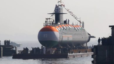 INS Khanderi; Indian Navy; Scorpene Submarines; Make in India