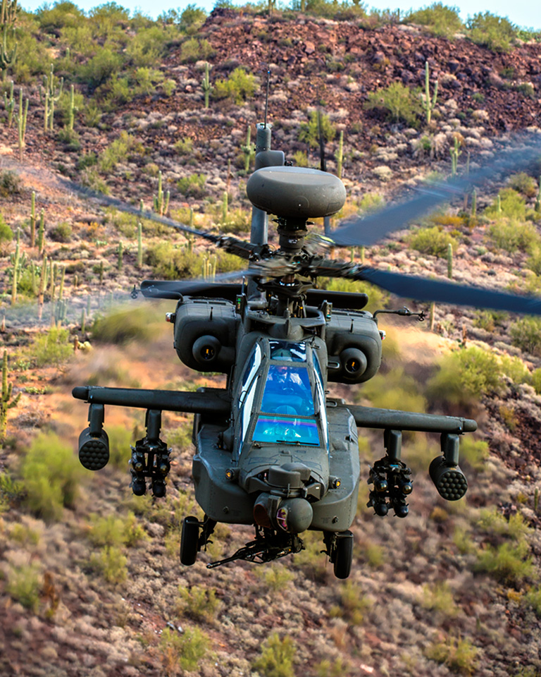 Indian Army All Set to Operate its Own Air Force with Six Apache Multi-Role Combat Helicopters.