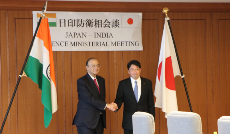 India, Japan, Defence Minister, Arun Jaitley Defence Minister iiii