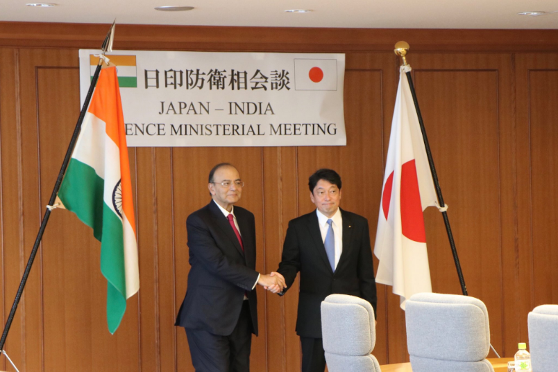 Need for a roadmap to enhance co-operation between India and its natural partner in the Asia-Pacific region – Japan.