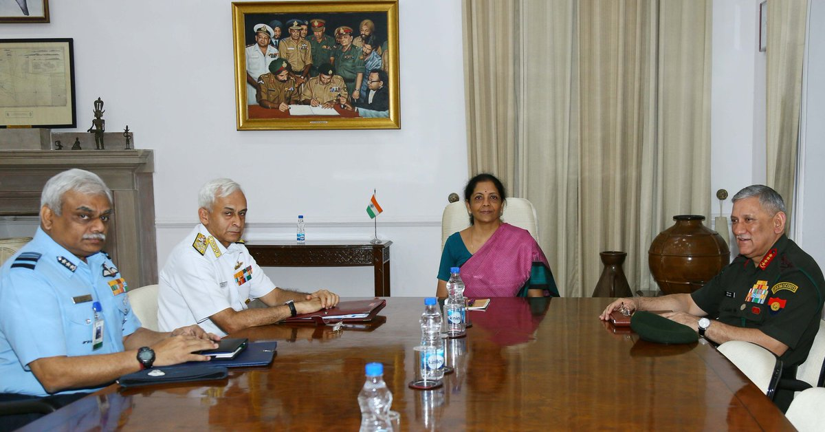 Change of Guard at India's Ministry of Defence; MP Nirmala Sitharaman country's new Defence Minister.