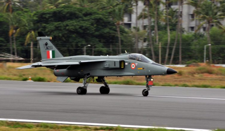 A Jaguar DARIN - III Aircraft; Courtesy - HAL.