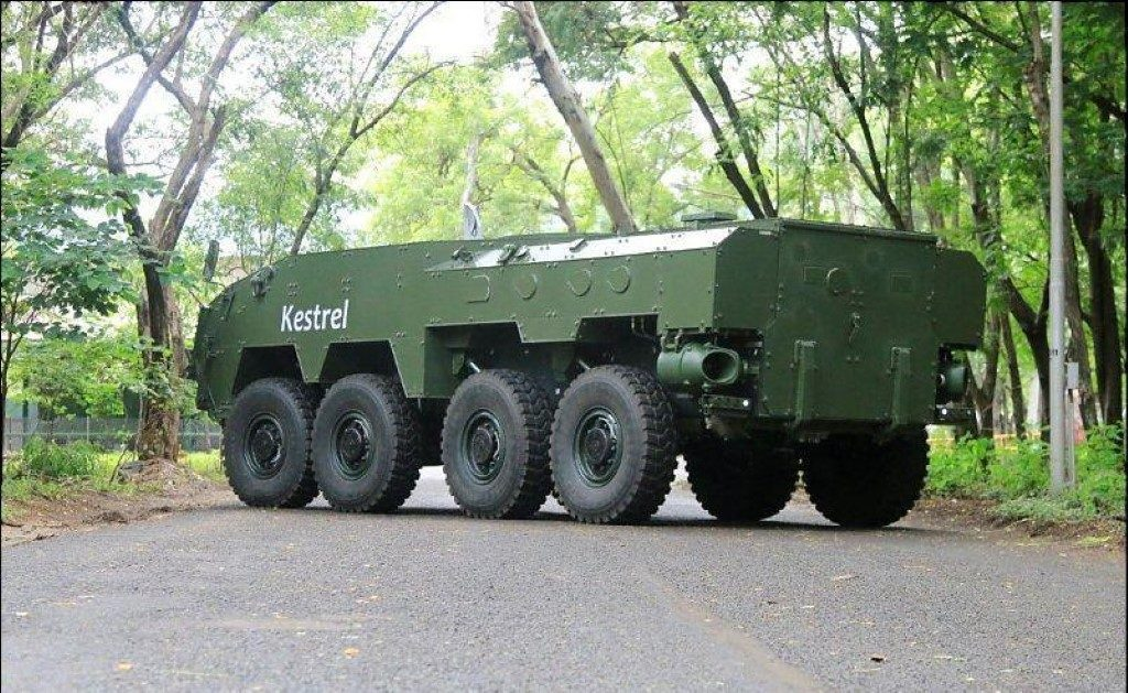 The Kestral FICV that is being offered by Tata Aerospace and Defence; Courtesy - Tata Motors.