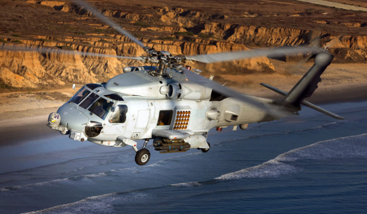 The MH-60R NMR - helicopter; Courtesy - Lockheed Martin