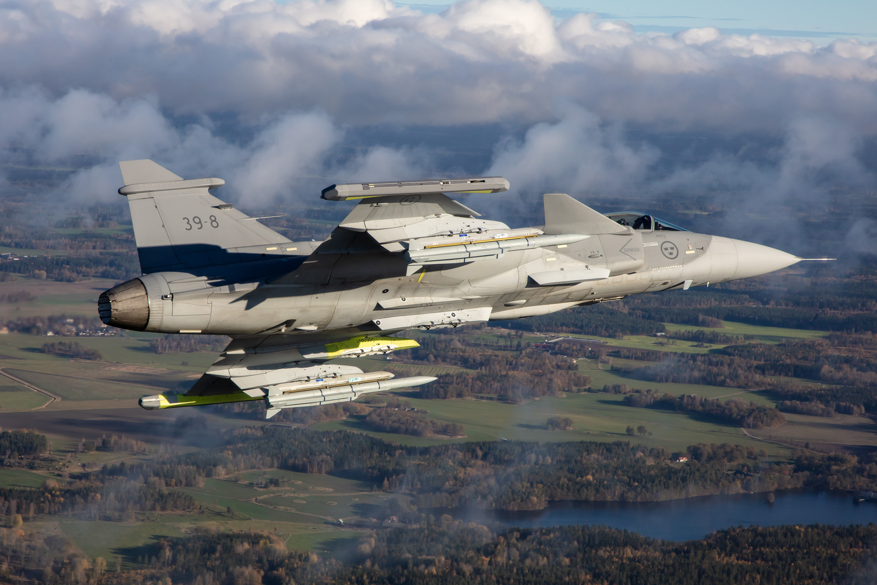 Saab pushes for its Gripen – E Fighter