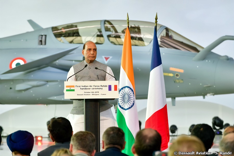 Defence Minister Rajnath Singh visits France to boost Defence Co-operation