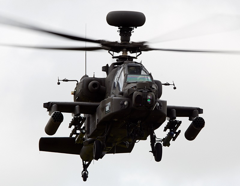 IAF inducts maiden Apache Attack Helicopter