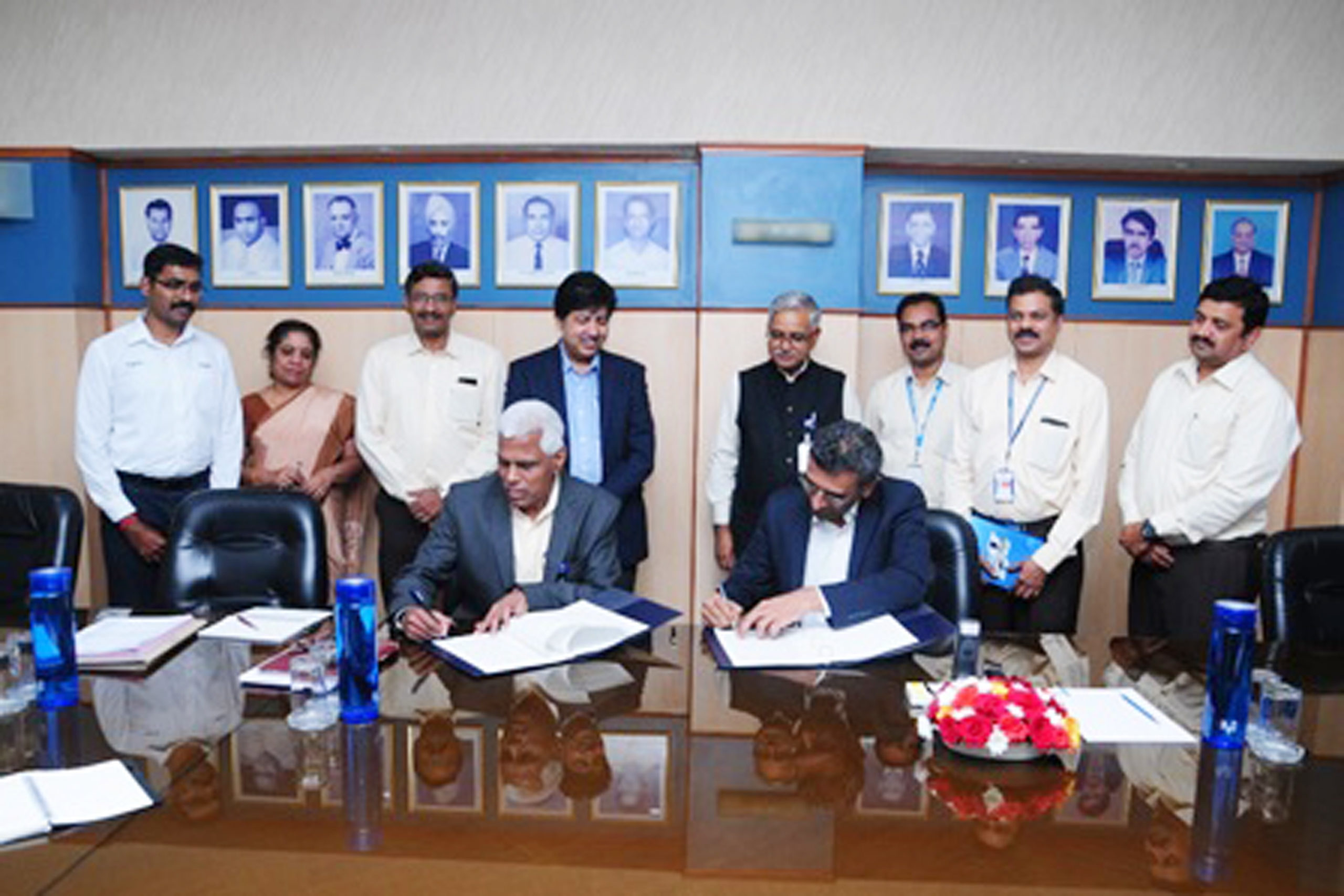 HAL and Wipro Infrastructure Engineering's Wipro 3D Sign an MOU