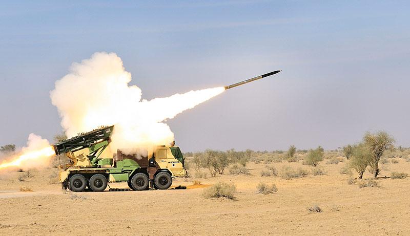DRDO successfully flight-tests Pinaka Missile System off Odisha coast