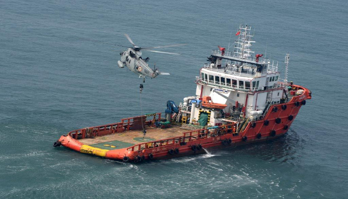 Anti Hijacking Exercise Conducted by Southern Naval Command