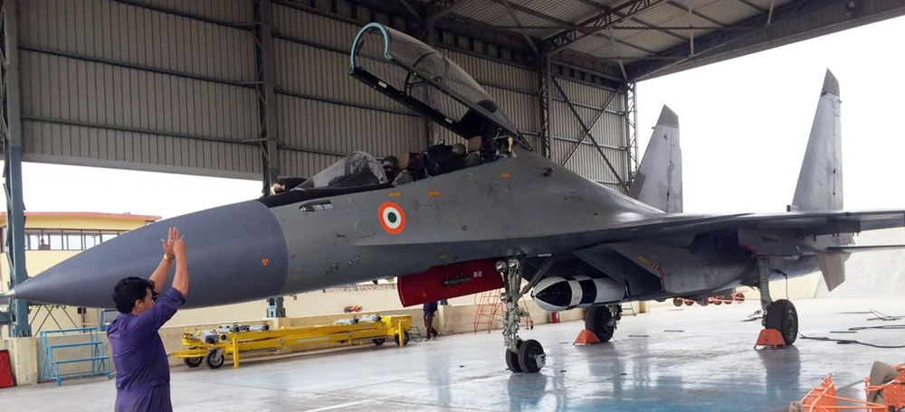 Induction of 222 Squadron at Air Force Station Thanjavur